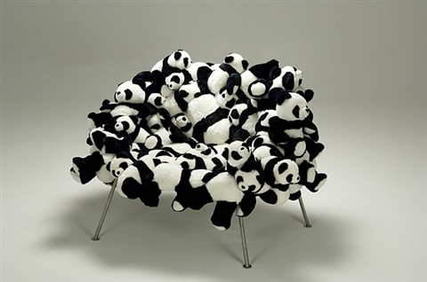 panda banquete chair by fernando and humberto campana