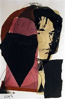 jagger by andy warhol