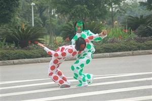 two men by hu xiangqian