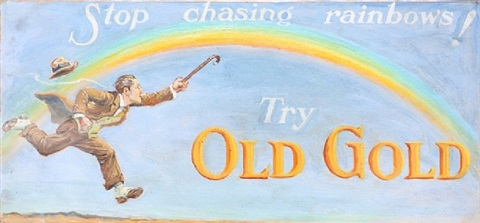 stop chasing rainbows! try old gold by american school