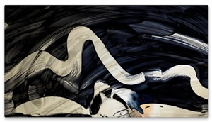 paint it black, and erase by takehito koganezawa