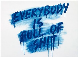 everybody is full of shit by mel bochner
