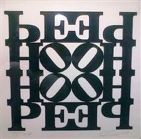 hope wall by robert indiana