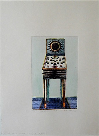 nickel machine by wayne thiebaud
