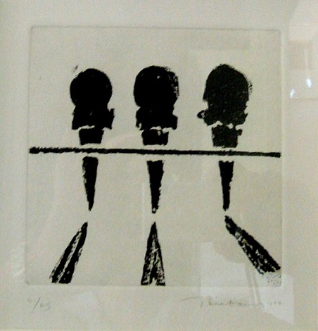 double deckers (sugarlift) (sold) by wayne thiebaud