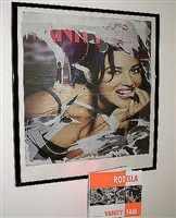 bella monica bellucci by mimmo rotella