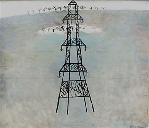 the pylon by mary newcomb