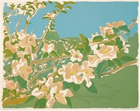 apple blossoms ii by fairfield porter