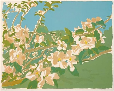floralia a festival of flowers by fairfield porter