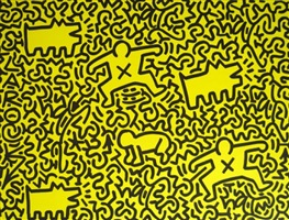 collaboration with la ii by keith haring