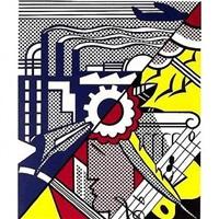 industry and the arts (ii) by roy lichtenstein