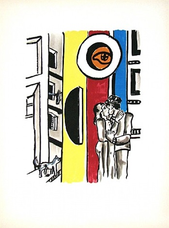"from the séries ""la ville"" by fernand léger"