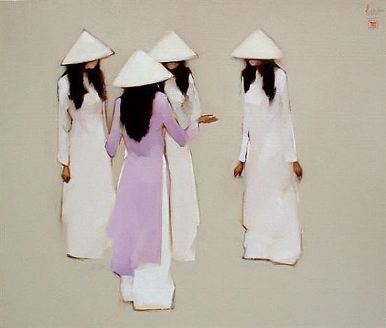 schoolgirls by nguyen thanh binh