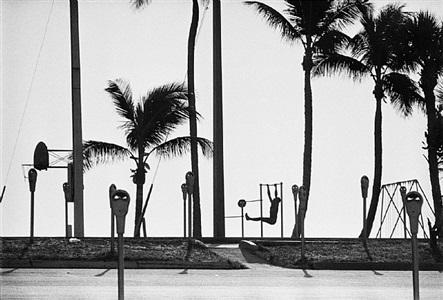 exercising, fort lauderdale, 1966 by rené burri