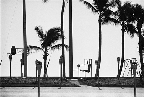 exercising, fort lauderdale, 1966 by rené burri
