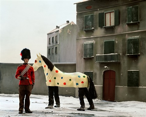 winter stories #57 (sunday afternoon) by paolo ventura