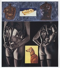 yellow bread by david salle