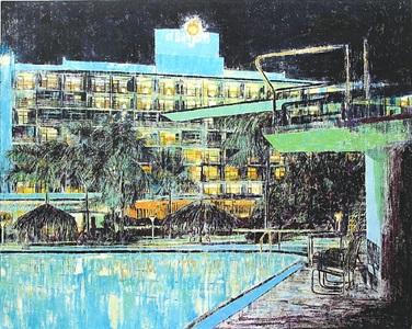 hotel san juan, isla verde, puerto rico by enoc perez