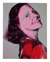 aenne burda by andy warhol