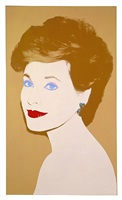 darleen norris (formerly identified as unidentified woman) by andy warhol