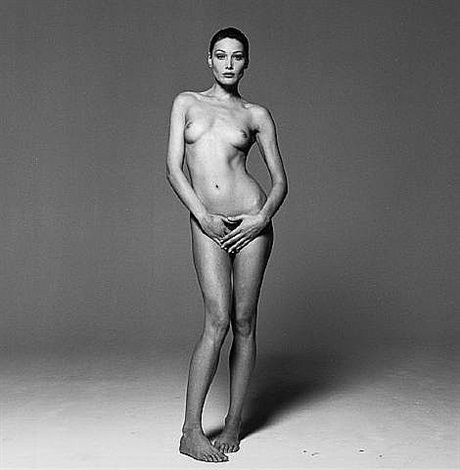 carla bruni ii (from safe sex campaign) by michel comte