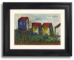 houses by francis newton souza