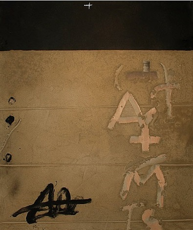 a+m by antoni tàpies