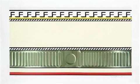 entablature i (corlett 138) by roy lichtenstein