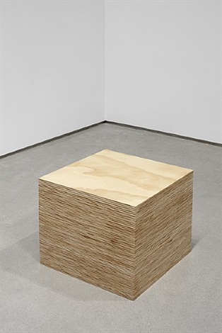 4' x 8' sheet of plywood by tom sachs