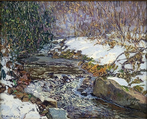 under the laurel by edward willis redfield