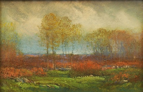 october by dwight william tryon