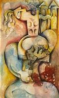 the wine taster by alexandra nechita