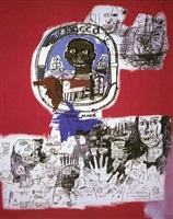 logo by jean-michel basquiat