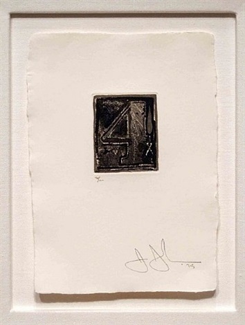 artwork 4 by jasper johns