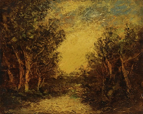 dancing trees by ralph albert blakelock