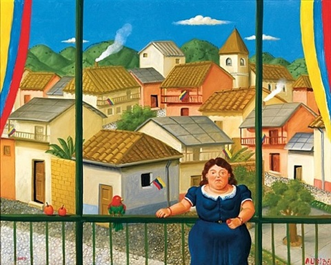 national holiday by fernando botero