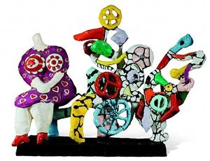 la machine à rêver by niki de saint phalle