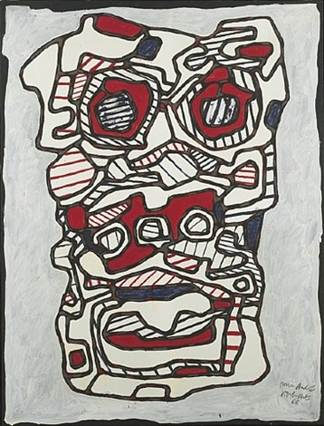 réchaud - four à gaz v by jean dubuffet