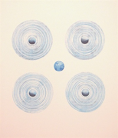 fans of the world by ed ruscha
