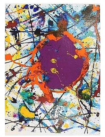 untitled (bonner graphiks) by sam francis