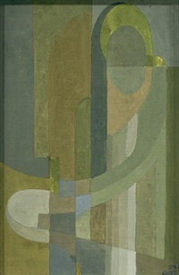 abstract figure by hilaire hiler