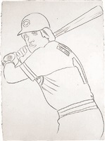 reds - pete rose i by andy warhol
