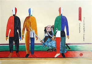 untitled - from the series the adventures of kuniyoshi by oleg petrenko