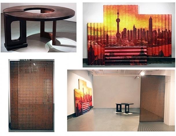 persona 3<br>long ring tea-table<br>morning in shanghai by ai weiwei, wang xingwei and ding yi