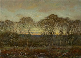 twilight by dwight william tryon