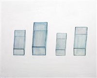 a series of glass boxes iii by liao fei