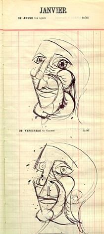 21 et 22 janvier 1937 by dora maar