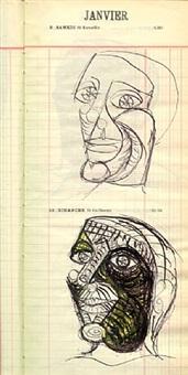 9 et 10 janvier 1937 by dora maar