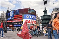 chador dadar london picadilly by haleh anvari