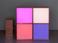 copper grid 4 by angela bulloch
